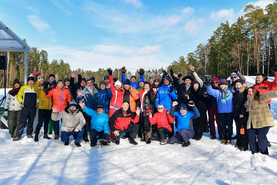 Moscow Country Club Hosted the Winter Golf 2021 Tournament